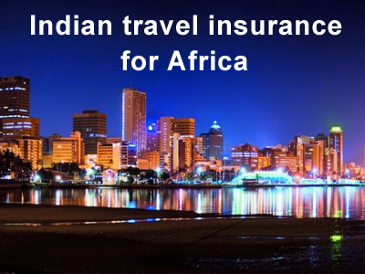 indian travel insurance for africa