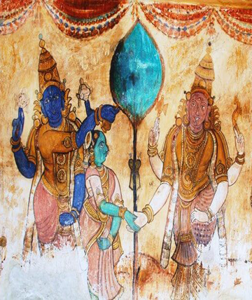 Ajantha And Ellora Cave Painting Indian Traditional Art