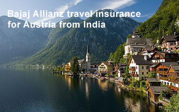 Bajaj travel insurance Austria from India