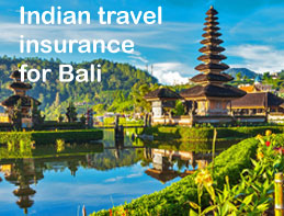 indian travel insurance for bali