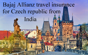 Bajaj travel insurance Czech Republic from India