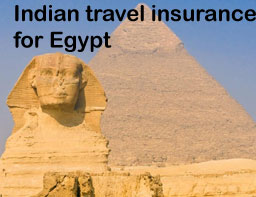 indian travel insurance for egypt
