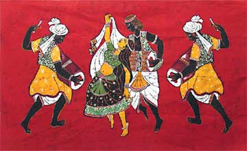 Dance Indian Folk painting