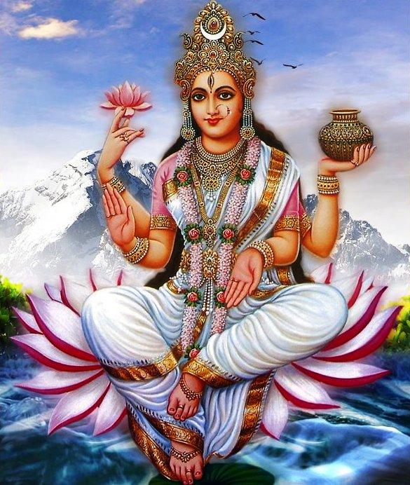 108 Names Of Goddess Ganga