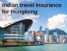 indian travel insurance for hongkong