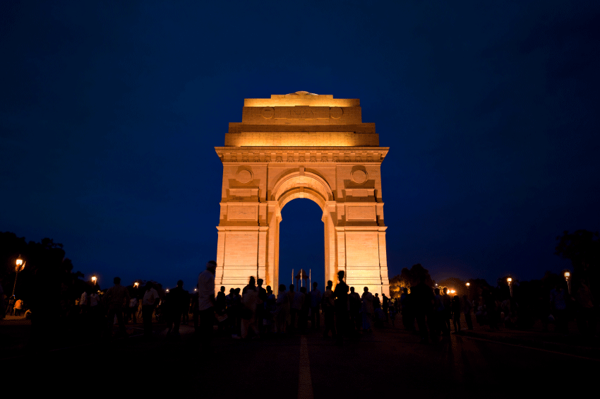 India Gate The Famous Indian Monuments