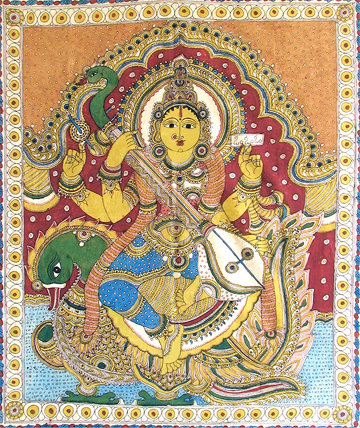 Kalamkari Paintings Paintings Of Andhra Pradesh