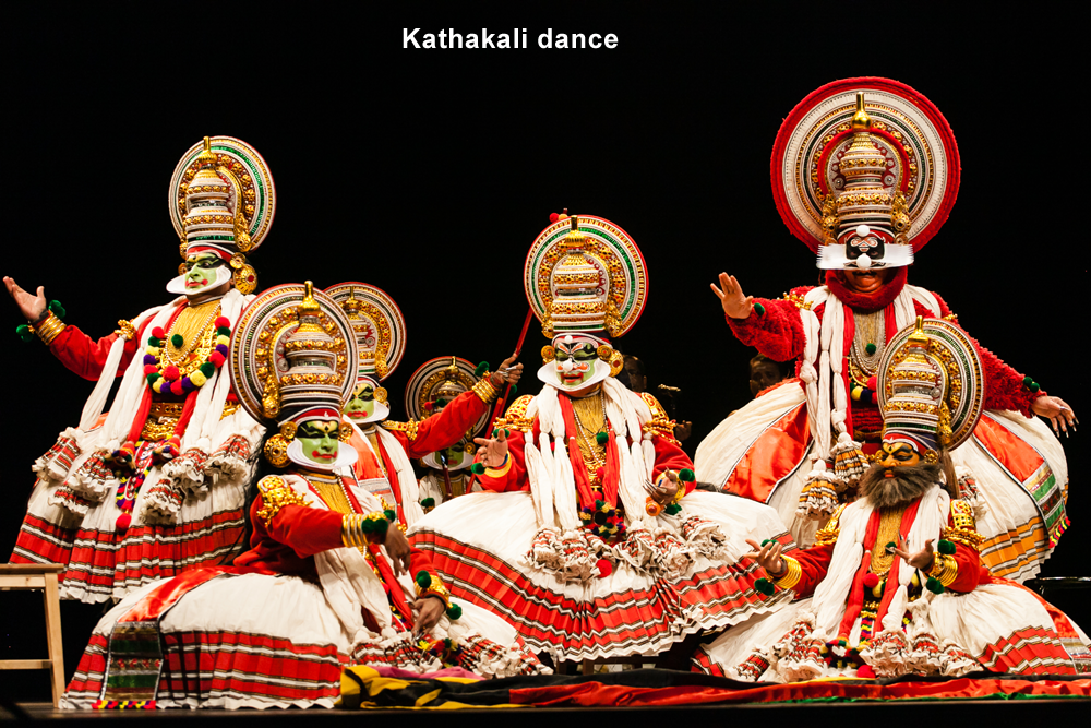 write about the classical dances of india