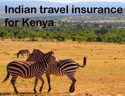 indian travel insurance for kenya
