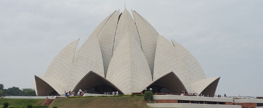 Lotus Temple The Famous Indian Monuments