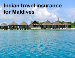 indian travel insurance for maldives
