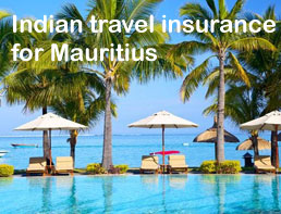 indian travel insurance for Mauritius