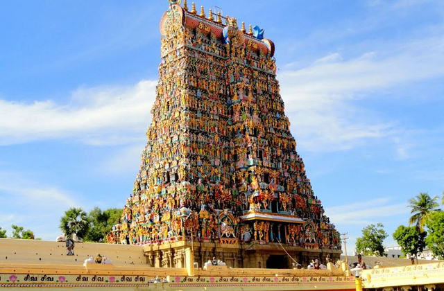 Meenakshi Temple The Famous Indian Monuments
