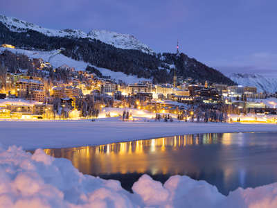 St. Moritz in Switzerland