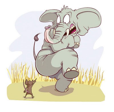 Panchatantra Story - The story of the mice and the elephants
