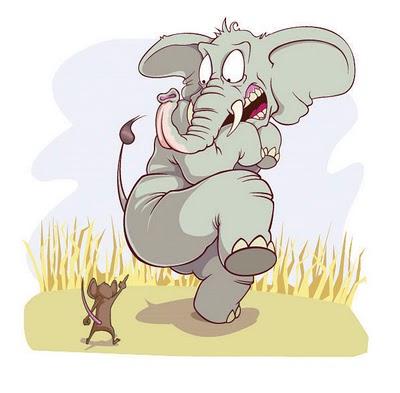 elephant and mouse art ile ilgili görsel sonucu