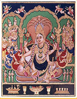 Women Mysore paintings