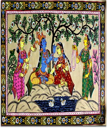 Marriage Pattachitra paintings