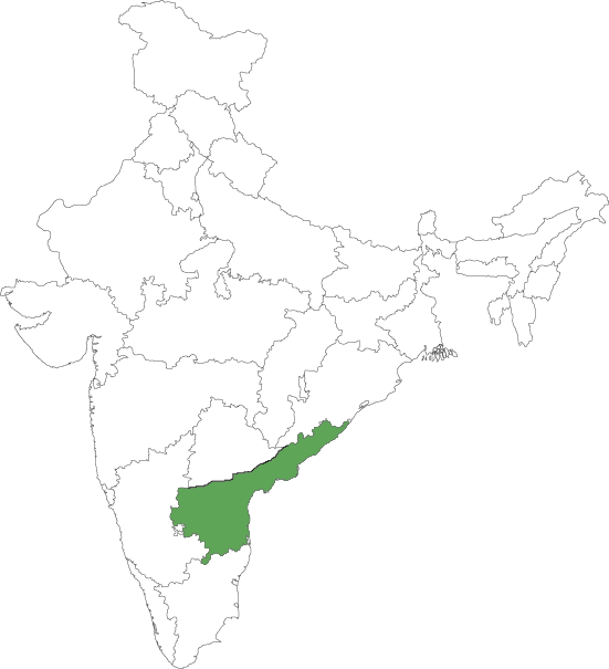 Seemandhra map