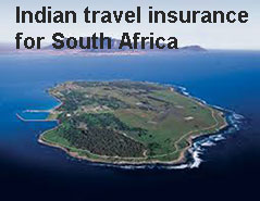 indian travel insurance for south Africa