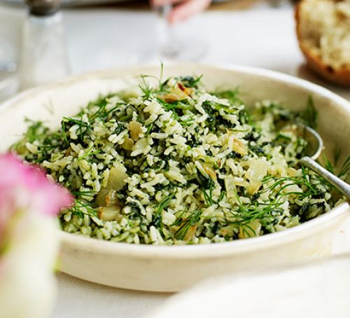 spinach-rice