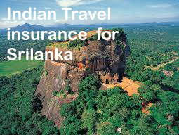 indian travel insurance for srilanka