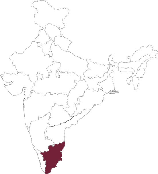 Tamilnadu map