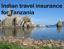 indian travel insurance for Tanzania