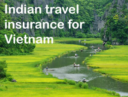 indian travel insurance for vietnam