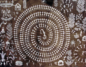 Warli paintings paintings of maharashtra dance warli painting thecheapjerseys Image collections