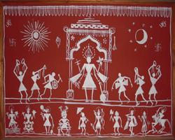 Warli paintings paintings of maharashtra warli arts crafts thecheapjerseys Gallery